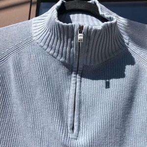 Tommy Bahama Vintage Blue Silk Blend Sweater M